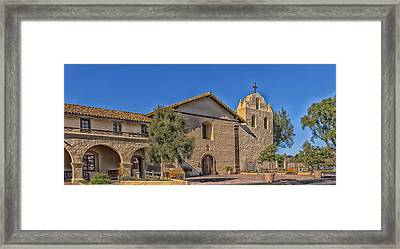 Santa Ines Mission - Santa Ynez California Framed Print