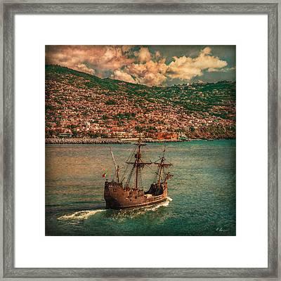 Santa Maria Colombo Framed Print