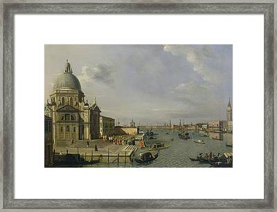 Santa Maria Della Salute - Venice  Framed Print by William James