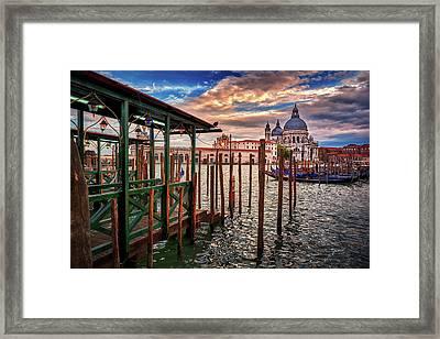 Santa Maria Della Salute Framed Print