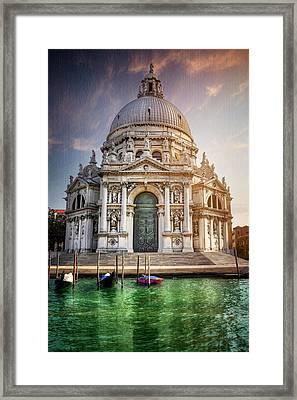 Santa Maria Della Salute - Venice  Framed Print