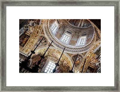 Santa Maria Maggiore Framed Print by Alexander Mendoza
