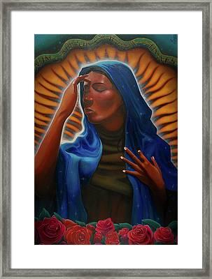 Santa Maria Framed Print by Nelson Dedos Garcia