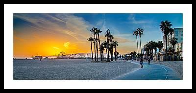 Venice Beach Framed Prints