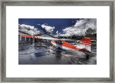 Santa Paula Airport Framed Print by Lachlan Kay