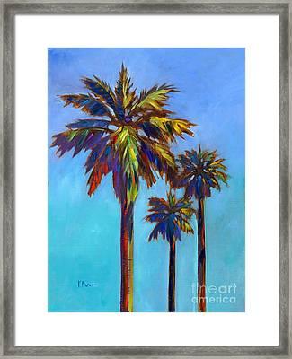 Santa Rita Palm I Framed Print by Paul Brent