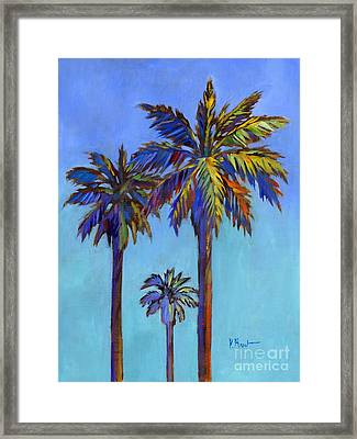 Santa Rita Palm II Framed Print by Paul Brent