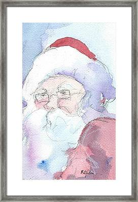 Santa  Framed Print by Robert Yonke
