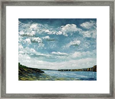 Santa Rosa Lake 1 Framed Print