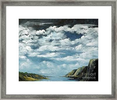 Santa Rosa Lake 4 Framed Print