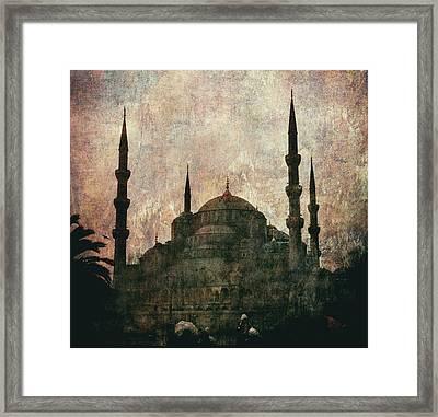 Santa Sofia - Istanbul Framed Print