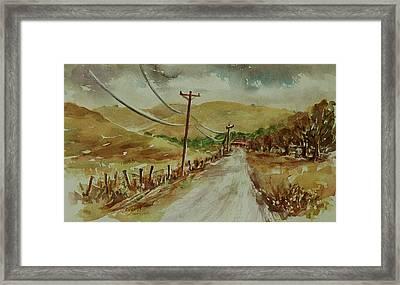 Santa Teresa County Park California Landscape 3 Framed Print