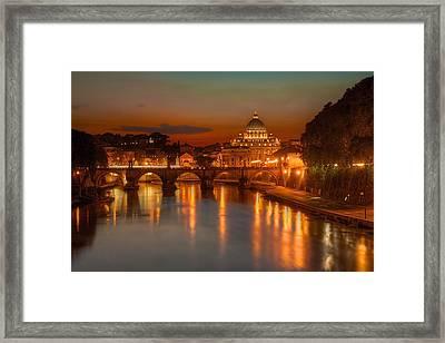 Sant'angelo Bridge Framed Print