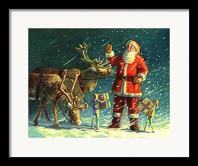 Rudolph Framed Prints