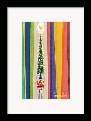 Father Christmas Framed Prints