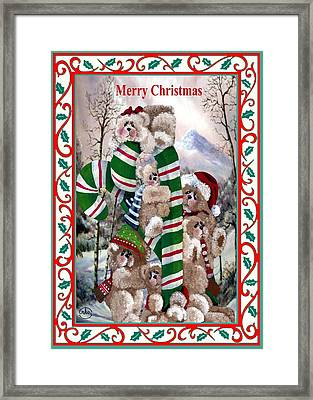 Santa's Little Helpers Framed Print by Ron and Ronda Chambers