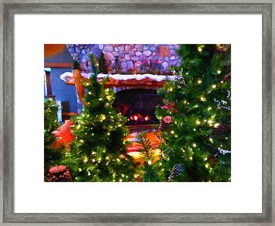 Santa's Living Room Framed Print by Chris Flees