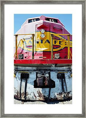 Sante Fe Railway Framed Print