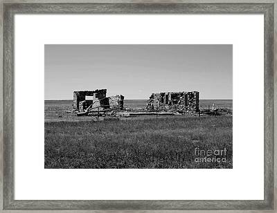 Sante Fe Trail Ghost Framed Print by Tommy Anderson