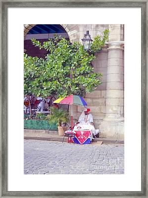 Santeria Priest Framed Print by Bob Phillips