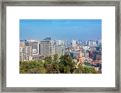 Santiago, Chile Buildings Framed Print