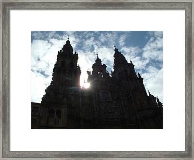 Santiago De Compostela Framed Print by Lara Henderson
