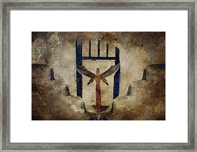 Santo Framed Print by Carol Leigh