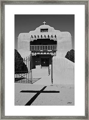 Santo Tomas De Abiquiu Church Framed Print