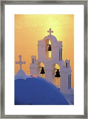 Santorini 05 Framed Print by Manolis Tsantakis