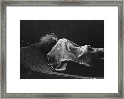Portraits Of Poverty 1988-1997 Framed Print by Michael L Kimble