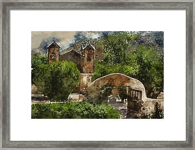 Santuario De Chimayo 1 Framed Print