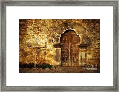 Santuary Framed Print by Iris Greenwell
