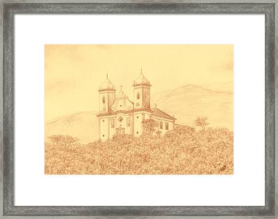 Sao Francisco De Paula Church Framed Print by Enaile D Siffert