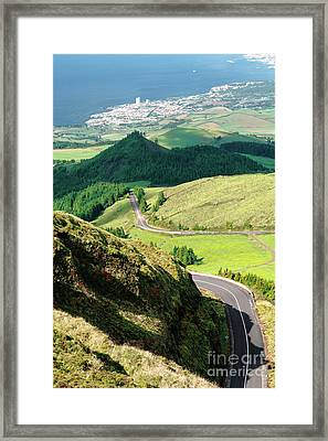 Sao Miguel Framed Print