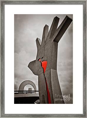 Sao Paulo - Brazil - Memorial Da America Latina Framed Print