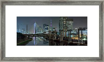 Sao Paulo Bridges - 3 Generations Together Framed Print