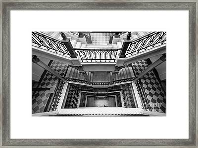 Sao Paulo - Gorgeous Staircases Framed Print