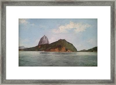 Sao Paulo Framed Print by MotionAge Designs