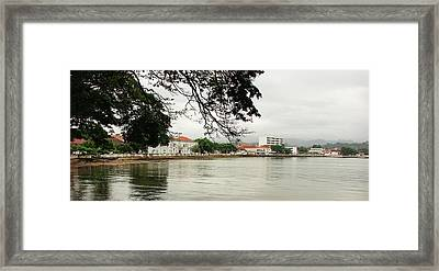 Sao Tome And Principe I Framed Print by Brett Winn
