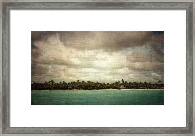 Saona Island , Santo Domingo Framed Print