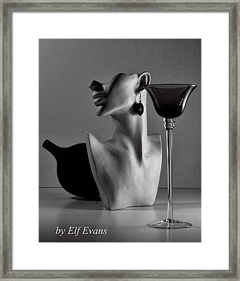 Shape Shifting II Framed Print