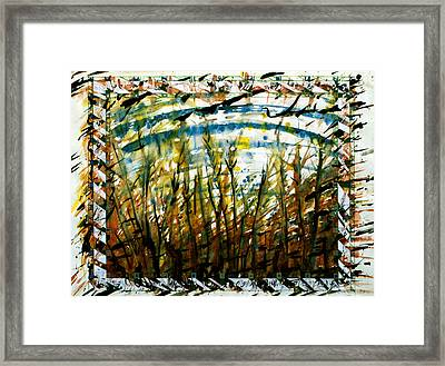 Saplings Framed Print by Tom Hefko