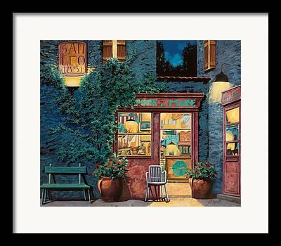 Restaurant Cafe Framed Prints