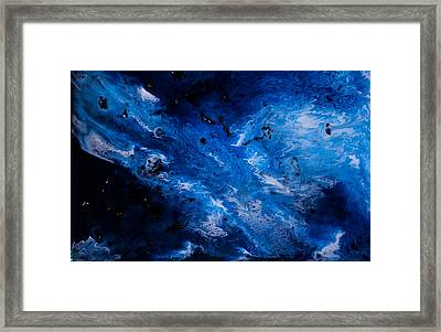 Sapphire Framed Print by Summer Morgan