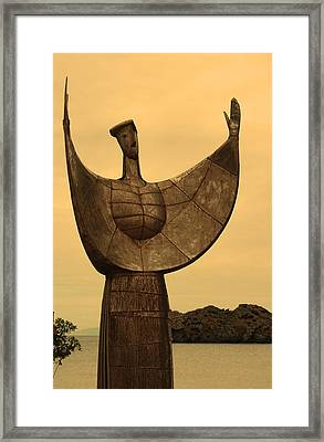 Sappho Framed Print by Daren Griffin