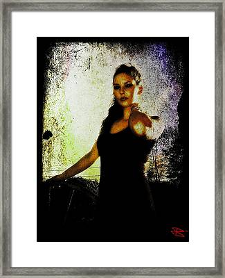 Sarah 1 Framed Print by Mark Baranowski