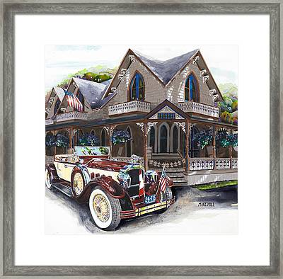 Sarah Elizah The Packard Framed Print