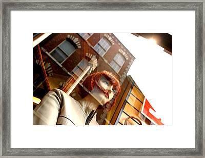 Sarah Eyre Framed Print by Jez C Self