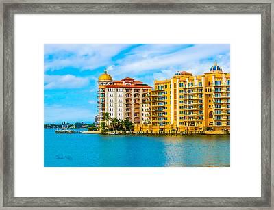 Sarasota Architecture Framed Print