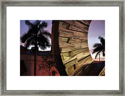 Sarasota Nights Framed Print